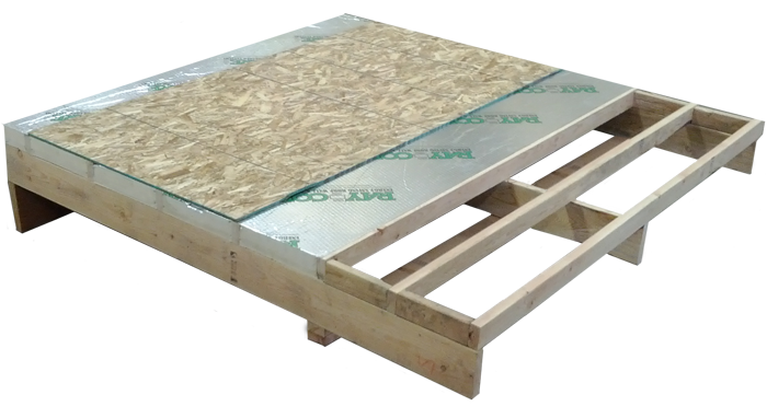 Non-vented (Hot Roof) SIP Roof Panels