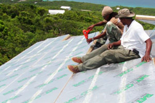 SIPs Roof Panels Withstand Bahamas Hurricanes
