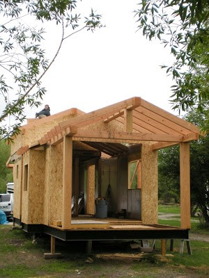 SIPs Panels Energy Efficient Tiny House RAYCORE