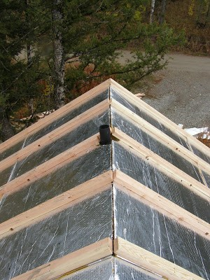 Insulated Roofing Panels SIPs by RAYCORE - Palmer Cabin