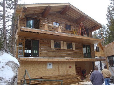 SIPs Log Sided Truckee, California Home by RAYCORE - Mt. Lincoln Construction