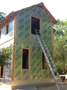 Structural insulated panels ray core building systems sips Building with sip