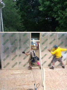 Structural Insulated Panel SIP Wall by RAYCORE RossMan Homes