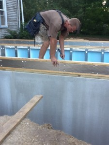 Insulated Rim Joist SIPs Panel RAYCORE RossMan Homes