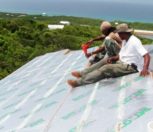 RAYCORE Roof Insulation SIP Panels in Bahamas