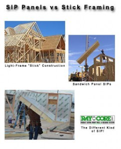 SIP Panels Construction Vs Stick Framing - RAYCORE Stick Framing In Panelized Form