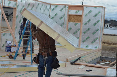 diy structural insulated panels