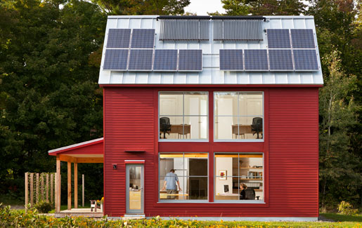 Sip home receives green building award for energy efficency for Sip built homes