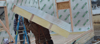 Structural Insulated Panels Or Sips Energy Saving Panels