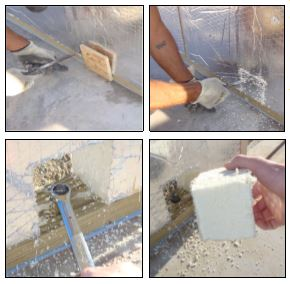 Bolting A RAYCORE SIPs Wall To a Slab Foundation